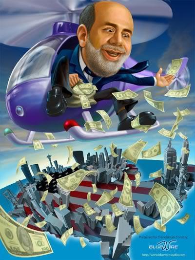 helicóptero Bernanke